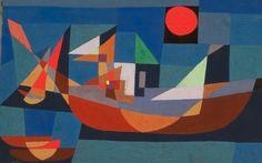 Klee - Resting Ships, 1927 Buenos Aires, ARG Museo Nacional Bellas Artes
