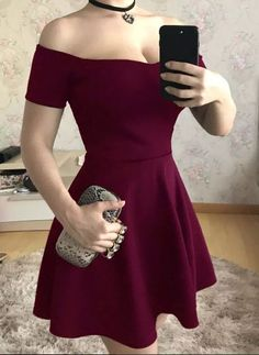 Red Homecoming Dresses, Bridesmaid Dresses, Chic Outfits, I Dress, Vintage Dresses, Fashion Dresses, Clothes For Women, Formal Dresses, Satin
