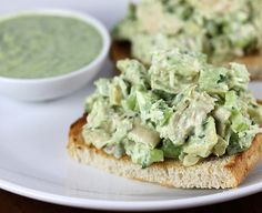 Avocado Chicken Salad Recipe. http://blogchef.net/avocado-chicken-salad-recipe/