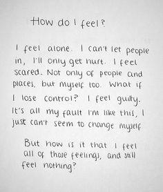 why do i feel suicidal for no reason
