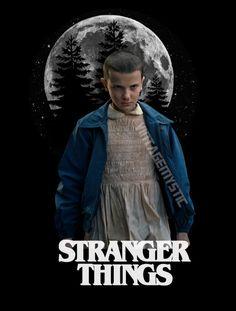 Stranger Things Eleven El Minimalist Digital by vintagemystic