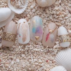 Pin on ネイル Love Nails, Pretty Nails, Gypsy Nails, Japan Nail Art, Dream Catcher Nails, Asian Nails, Kawaii Nails, Manicure Y Pedicure, Gel Nail Art
