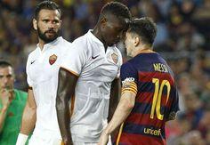 Messi headbutt on Yanga-Mbiwa 'normal' Barcelona vice-president Says