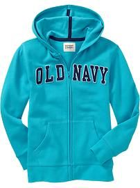Old Navy | Women's Logo-Zip Hoodies | Clothes closet | Pinterest ...