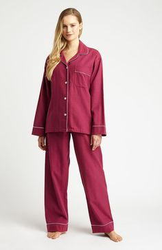 5b0a4e286017e Brushed Tartan Pyjamas (tlps) - Mulled Wine | Bonsoir of London Mulled Wine,