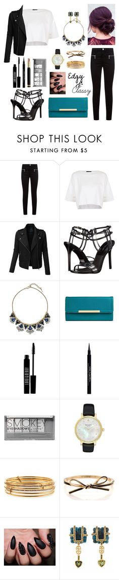 """""""Edgy"""" by katymccord77 ❤ liked on Polyvore featuring J Brand, Topshop, LE3NO, Michael Kors, Chloe + Isabel, Merona, Lord & Berry, Givenchy, Boohoo and Kate Spade"""