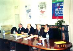 Sede Asppi Bologna, il tavolo dei relatori