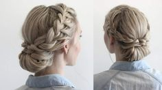 French Braid Headband