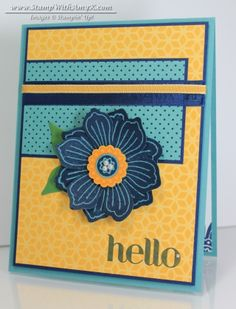 Bloom For You - Stampin' Up! - Stamp With Amy K