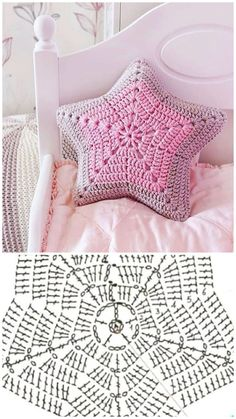 Crochet doll dress and fabric very beautiful # dresses for baby crochet . - yastıklar - Very cute crochet and fabric doll dress # baby dresses crochet – wint … – fabrics – # - Diy Crafts Knitting, Diy Crafts Crochet, Crochet Home, Cute Crochet, Crochet Projects, Knitting Ideas, Crochet Ideas, Crochet Motifs, Crochet Diagram