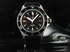 Glycine Watch Combat Sub 200m Automatic- Black Bezel 3863.196 N-TBA9 in Jewellery & Watches, Watches, Wristwatches | eBay