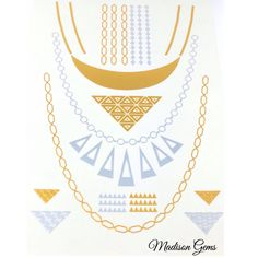 Glam up an everyday outfit wearing 'Metallic Jewelry Tattoos' from madisongems.com   #FashionJewelry #Accessories #Bling #Glam #Glitz #Fashion #Fashionista #Jewels #Jewelry #InstaJewelry #JewelryGram #Gems #StatementJewelry #Trendy #Necklaces #Earrings #Bracelets #Rings #KidsJewelry #MensJewelry #MensCollection #MensFashion #MadisonGems #ElevateYourStyle #JewelryTattoos