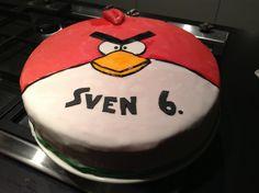 Angry Bird taart juni 2013