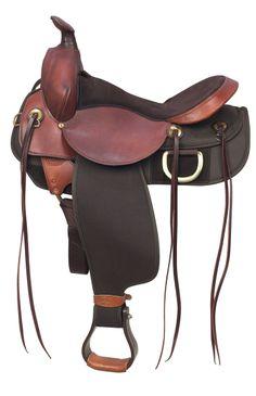 97115822004 7172D Easy Rider Trail Saddle Demo Western Saddles