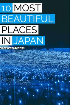 10 Most Beautiful Places in Japan! Planning a trip to Japan? There are so many things to do in Japan that you have probably never heard of! This Japan travel guide will help you plan your trip and find all the best things to do in Japan. #Japan #japantravel #beautifulplaces #travelinspiration #asiatravel Japan Travel Guide, Asia Travel, Beautiful Places In Japan, Most Beautiful, Japan Japan, Plan Your Trip, Traveling By Yourself, Travel Inspiration, How To Plan