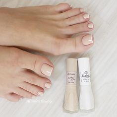 Pink Toe Nails, Cute Toe Nails, Feet Nails, Pretty Nails, French Manicure Toes, Manicure And Pedicure, Nails Now, My Nails, Fabulous Nails