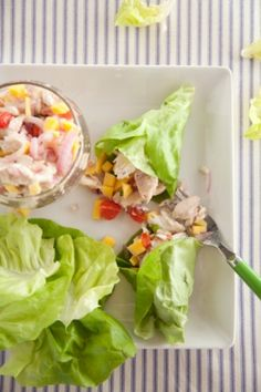 Mahi Mahi Lettuce Wraps/ Sounds delish, I don't know why, but I have never tried a dish with wish that I haven't liked. I have never had caviar though....probably never will.
