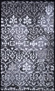 Rugs USA Serendipity 5099 Black Rug. Rugs USA $99 Sale! Area rug, rug, carpet, design, style, home decor, interior design, pattern, trends, home, statement, fall,design, autumn, cozy, sale, discount, interiors, house, free shipping, Halloween, fall decorations, fall crafts, fall décor, great winter, winter, warm, furniture, chair, art.