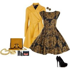 Party Dress with matching coat