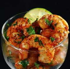 Grilled Shrimp with Tequila and Lime