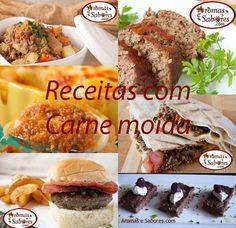receitas com carne moida