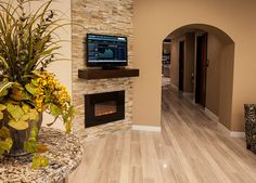 Electric Fireplace Design Ideas, Pictures, Remodel, and Decor - page 13