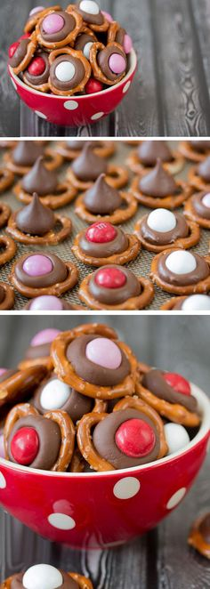 Peanut Butter Pretzel Munchies | Romantic Desserts for Two Date Nights