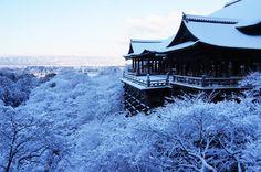 Kiyomizu-dera Temple in winter, Kyoto, Japan