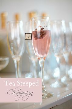 Tea Steeped Champaign