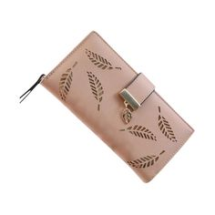 Leaf Bifold Leather Wallet – uShopnow store