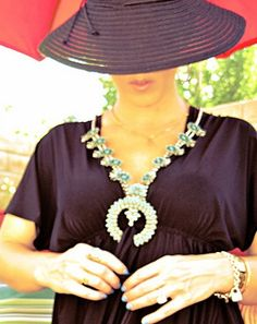 Navajo Jewelry – The Squash Blossom Necklace