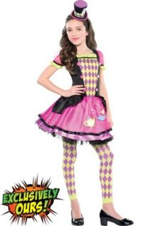 girls mad hatter costume halloween costumes girlscute - Mad Hatter Halloween Costume For Kids