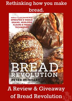 If you are a real food junkie or you enjoy experimenting in baking, Bread Revolution a book you want to have in your library.