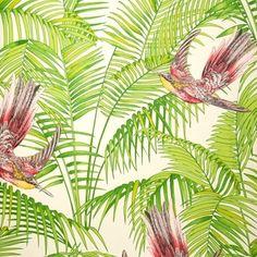 Sunbird tapeter från Matthew Williamson hos Engelska Tapetmagasinet. Contemporary blå/grön/turkos tapet. Köp fraktfritt online eller besök butiken i Göteborg.