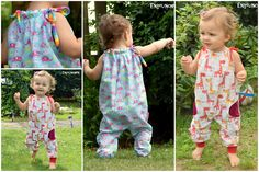 Knitting Patterns For Kids Jumper summer pants Sara Gr. 50 – 140 Sewing Instructions + Sewing Patterns – Sewing instructions at Makerist Baby Knitting Patterns, Sewing Patterns For Kids, Sewing For Kids, Baby Patterns, Pattern Sewing, Sewing Baby Clothes, Sewing Pants, Baby Sewing, Doll Clothes