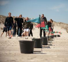 Beach golf op Terschelling