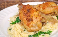 This recipe for Chicken Canzanese calls for chicken thighs braised in white wine flavored with prosciutto (or bacon), rosemary, garlic, sage, red pepper flakes and whole cloves.