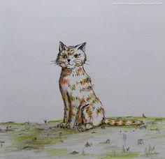 Pomaranczowy Kot: szkicownik 17/02/2016 Światowy Dzień Kota