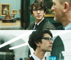 ben wishaw, i love the absurd amount of hair you have.