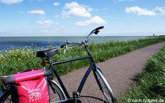 Wunderschöne Radstrecken am IJsselmeer entlang während unserer Rad- und Schiffsreise