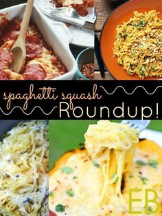 SPAGHETTI SQUASH ROUND-UP~ 20 RECIPES FOR THE SEASON & How Best to Bake Them - Eat Beautiful