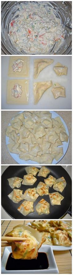 152840981078806851 lobster cream cheese wontons