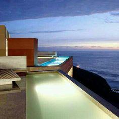 Conjunto Casas Vedoble, na Praia La Escondida, Peru. Projeto do.escritório Barclay & Crousse. #arquitetura #architecture #decor #design #projetocompartilhar