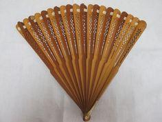 brise fan  ca 1790  wood