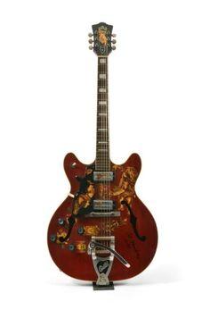 Jimi Hendrix's 1967 Electric Guild Starfire V : Lot 121