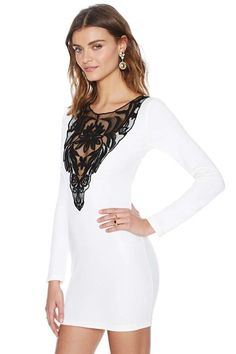 Nasty Gal French Love Dress | Shop Dresses at Nasty Gal