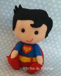 Felt Superman Inspiration * No instructions available.