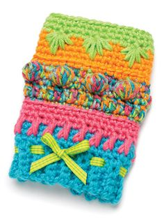 Knitted Twiddle Wrist Band Fidget Quilt Lap Quilts