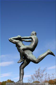 Gustav Vigeland Sculpture Park Oslo Norway Gustav Vigeland Flickr