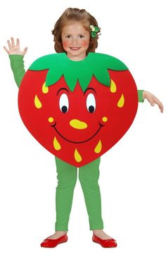 Fruit mascot - Mascot of our Fruit mascot by SpotSound UK Diy Fruit Costume, Fruit Costumes, Diy Baby Costumes, Halloween Costumes, Strawberry Costume, Strawberry Dress, Shopkins Costume, Costume Fleur, Nutrition Month Costume